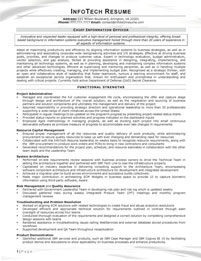 IT resume samples - Chief Information Officer