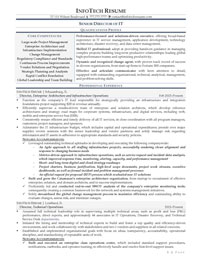 IT resume samples - Senior Director of IT